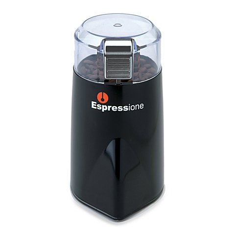 Espressione Rapid Touch Grinder in Black/Silver Model # 1105 (Espressione Coffee Grinder compare prices)