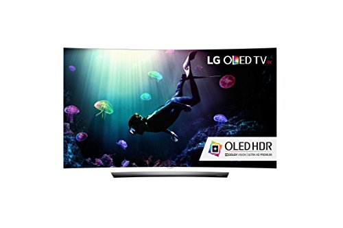 LG Electronics OLED65C6P Curved 65-Inch 4K Ultra HD Smart OLED...