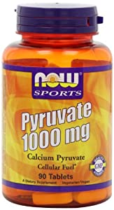 NOW Sports, PYRUVATE 1000mg 90 TABS