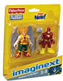 41rlvVRq8vL. SL160  Imaginext DC Super Friends Mini Figure 2Pack Hawkman The Flash