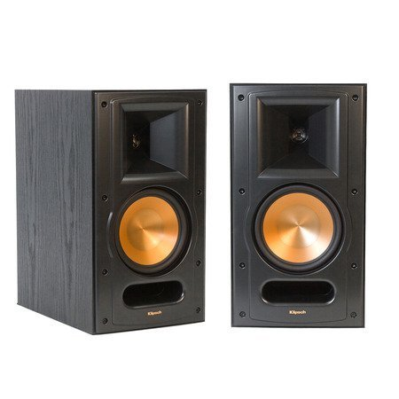 Klipsch Reference Series Rb-61 Bookshelf Loudspeakers (Pair, Black)