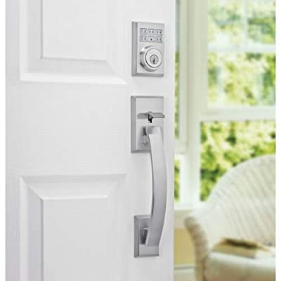 Kwikset 909CNT 15 SMT CP SmartCode Single Cylinder Contemporary Deadbolt