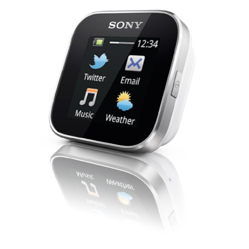 Sony MN2SW SmartWatch for Android Phones  - Retail Packaging - Black