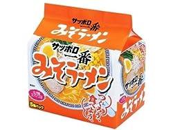 (お徳用ボックス) サンヨー食品 サッポロ一番 みそラーメン 5食パック×6個
