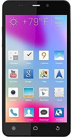 BLU Life Pure Mini Smartphone débloqué (4.5 pouces - 16 Go) Noir (import Espagne)