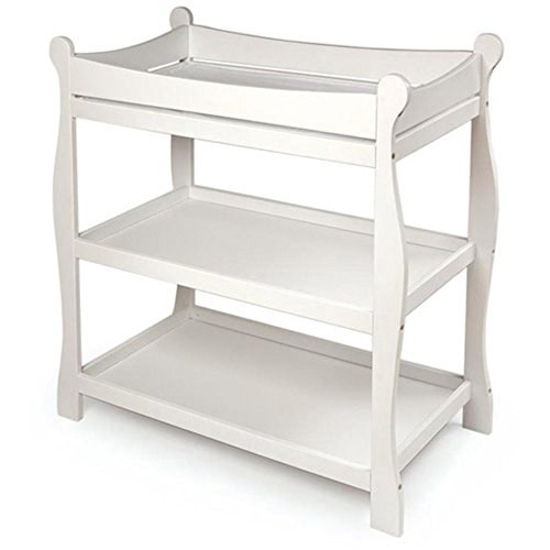 Badger-Basket-Sleigh-Style-Baby-Changing-Table