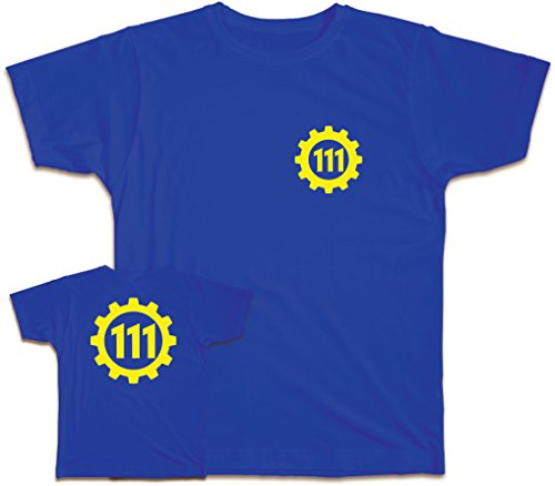 111 maglietta Royal Blue L