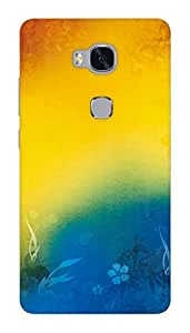 HUAWEI HONOR 5X DESIGNER HARD PLASTIC (MATT FINISH) BACK COVER CASE FROM CUSTOMIZE GURU