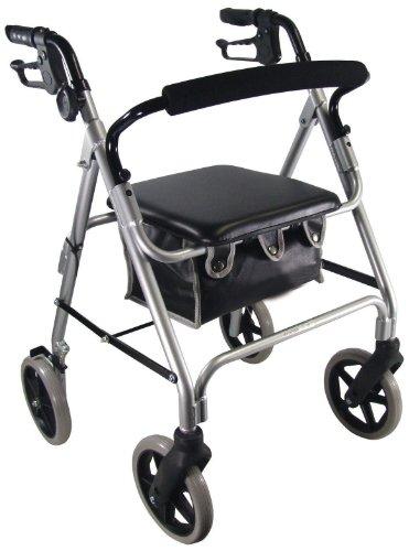 Aidapt Aluminium Rollator Walking Aid