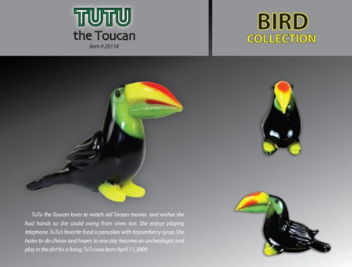 Looking Glass Tutu the Toucan - 1
