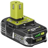 Ryobi P107 18-Volt One Plus Compact Lithium Plus Battery