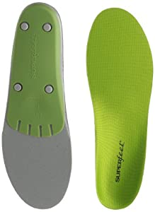 Superfeet Green Premium Insoles,Green,E: 10.5 - 12 US Womens/9.5 - 11 US Mens