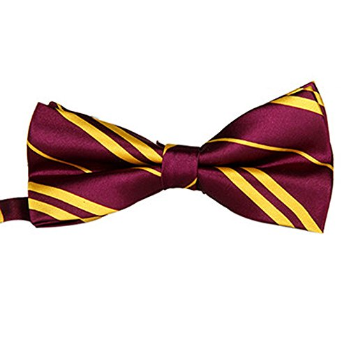soie-terminer-mode-noeud-papillon-pre-attache-elastique-dicky-pour-les-mariages-maroon-or-raye