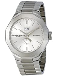 Baume & Mercier Men's MOA08827 Riviera Silver Dial Watch