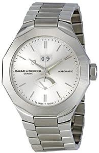 Baume & Mercier Men's MOA08827 Riviera Silver Dial Watch