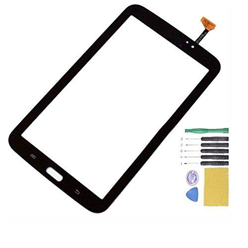 JingXiGuoJi® Touch Screen Glass Digitizer Replacement for Samsung Galaxy tab 3 7.0 inch Tablet SM-T210 SM-T211 (WIFI version) (Black)
