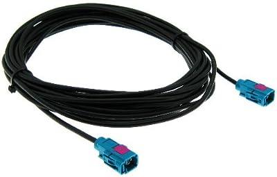 FAKRA Verlängerung weiblich 6m Antennenkabel RG174 Kabel Verlängerungskabel von adaptershop - Reifen Onlineshop