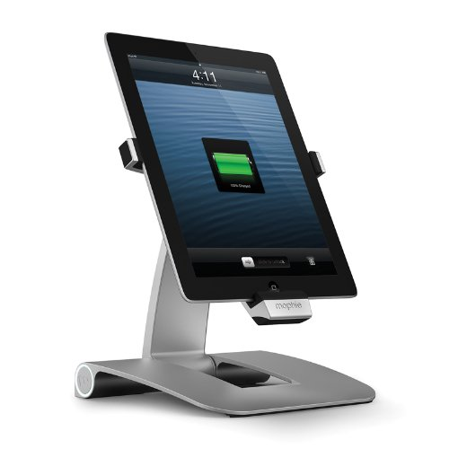 mophie 日本正規代理店品 powerstand for iPad (第4世代) Lightning対応モデル MOP-ST-000002