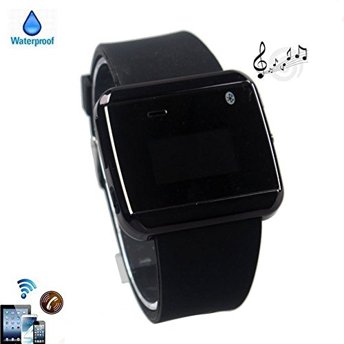 "Boriyuan Black Waterproof Wrist Bluetooth Smart U Watch U8 Watch Phone For Cell phones Tablets and PCs (Support Android 2.3 or Above): IOS Apple iphone 4 4S 5 5C 5S/ iPhone 6 4.7""/ iPhone 6 Plus 5.5"", iPad 2 3 4 5 Air Mini, Android Samsung Galaxy S3 I9300/S4 I9500/S5 I9600/Note 2 N7100/Note 3 N9000/Note 4/Mega 6.3 I9200, HTC One M7/M8/MAX, LG G2/G Pro 2/G Flex, Sony L36h/Z1S/Z2, Moto G/ X, Galaxy Tab, LG G Pad 8.3 V500 ect"