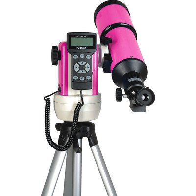 Smartstar R80 Computerized Refractor Telescope Color: Pink