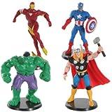 Marvel Avengers Miniature Alliance Cake Toppers