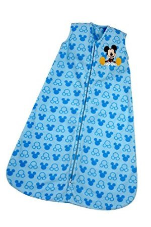 Disney Mickey Wearable Blanket, Blue, Small