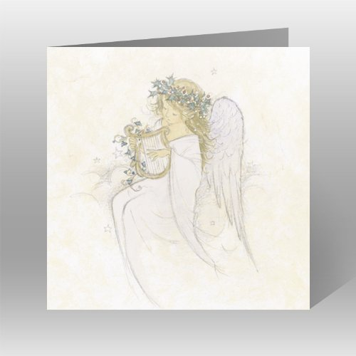 medici-charity-christmas-cards-pack-of-8-cards-angel-with-harp-in-aid-of-the-following-charities-mar
