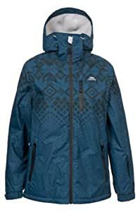 Trespass Women's Valmont Ski Jacket - Mallard Print, X-Small