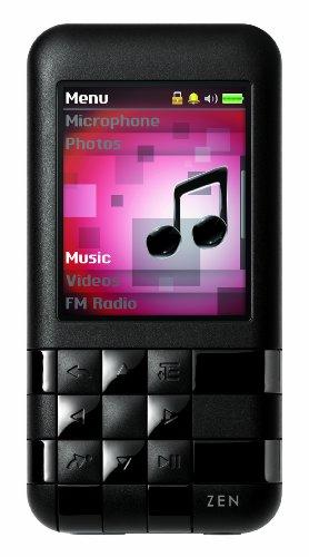 Creative Labs Zen Mozaic EZ300 8 GB MP3 Player (Black)