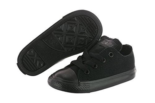 Converse Toddlers Chuck Taylor OX Classic Black Monoch Basketball Shoe 10 Infants US