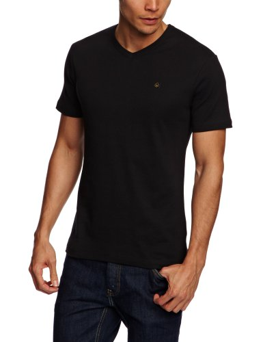 Duck and Cover Fraser  Men's T-Shirt Black X-Large