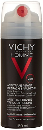 Vichy Homme Deodorante Spray 72H 150 ml