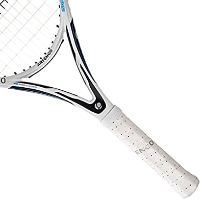 ARTENGO TR860 ADULT OVERSIZE TENNIS RACKET - WHITE/BLUE
