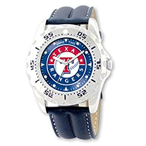 NSNSW25683Q-Mlb Officially Licensed Championship Texas Rangers Watch - Water... by MLB Officially Licensed