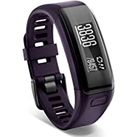 Garmin v-vosmart HR Activity Tracker Regular Fit (Purple / Blue) - Factory Refurbished
