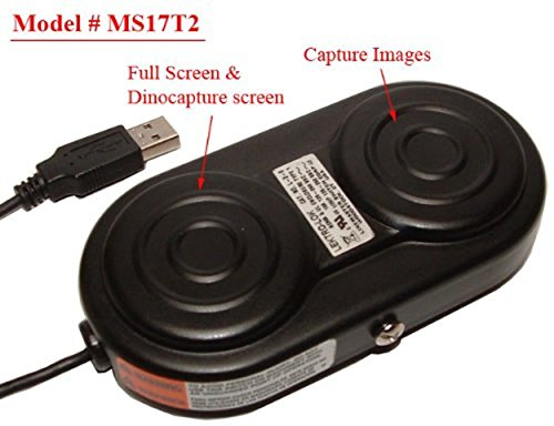 Bigc Ms17T2 Dual Usb Foot Pedal Trigger For Use With Dino-Lite Microscope