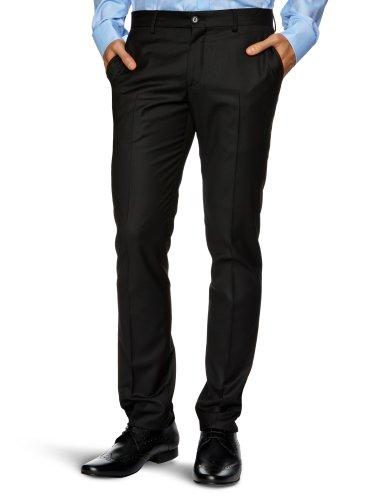 Selected Homme Bertie T Skinny Men's Trousers Black W30 INxL32 IN