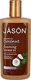 Jason Foaming Shower Oil Smoothing Coconut -- 10 fl oz - 2pc