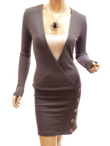 Patty Women Smart V-Neck Long Sleeve Knitwear