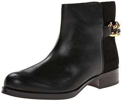 Sam Edelman Chester, Damen Biker Boots, Schwarz (black modena calf leather), EU 36 (4 Damen UK) (US 5)