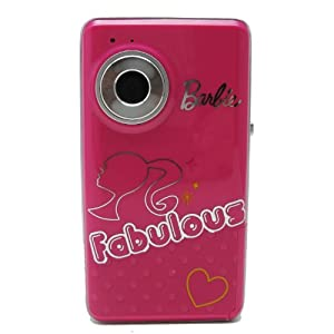 Digital Pink Barbie Fabulous Video Camera