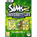 Sims 2 University Life Collection (3 Expansion Packs)
