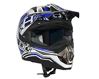 Casque Speeds Cross II Graphic bleu taille XL