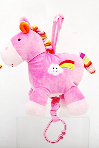 10-Pink-Horse-Baby-Musical-Pull-String-Plush-Plays-Twinkle-Twinkle-Little-Star
