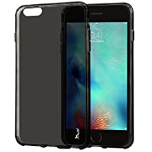 buy Iphone 6 / Iphone 6S Case, Tauri [Scratch Resistant] Premium Ultra Slim Thin Clear Flexible Soft Tpu Gel Skin Protective Case Cover For Apple Iphone 6 / Iphone 6S (4.7 Inch) - Smoke Black