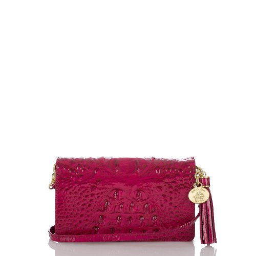 Amelia Crossbody<br>Glossy Melbourne Rouge