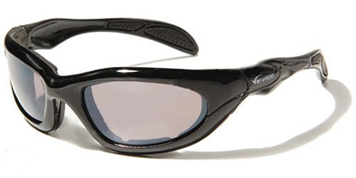 Black frame V26 Padded UV Sunglasses