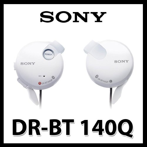 New Sony Earclip Drbt140Q Bluetooth Wireless Stereo Headset Free Multi Plug