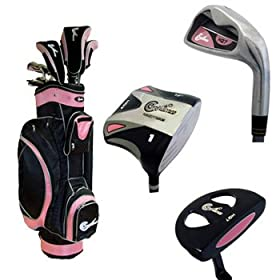Confidence HQ7 Square LADY Complete Set with Cart Bag
