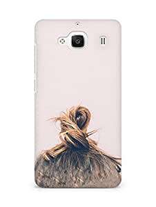 Amez designer printed 3d premium high quality back case cover for Xiaomi Redmi 2 (Hair)